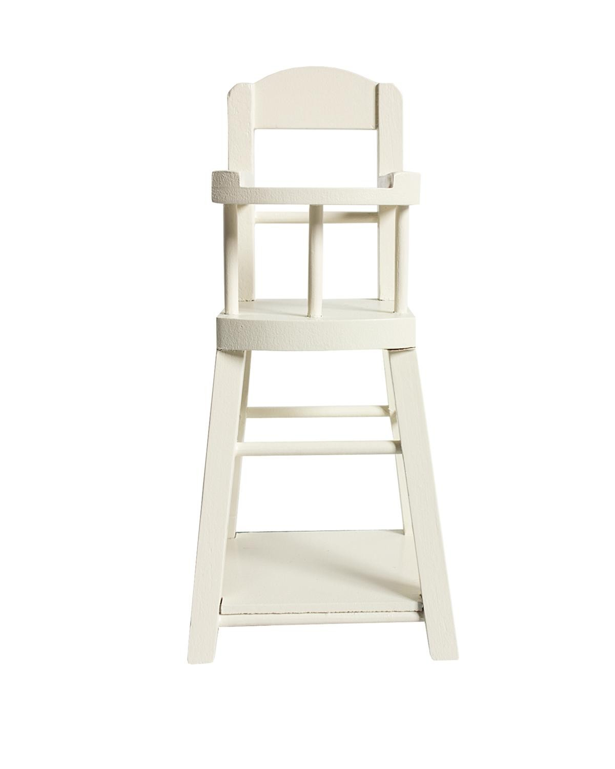 Maileg Micro High Chair In White
