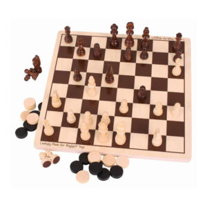 BigJigs Draughts and Chess