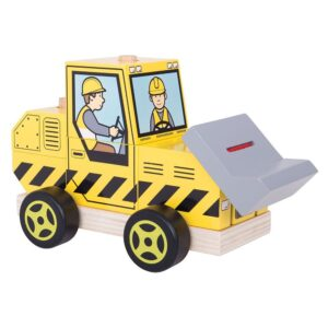 BigJigs Stacking Bulldozer