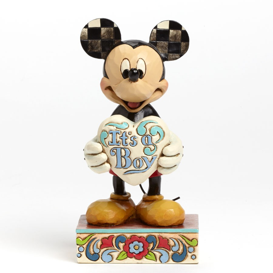 Disney Mickey Mouse It S A Boy Figurine Robyn S Nest