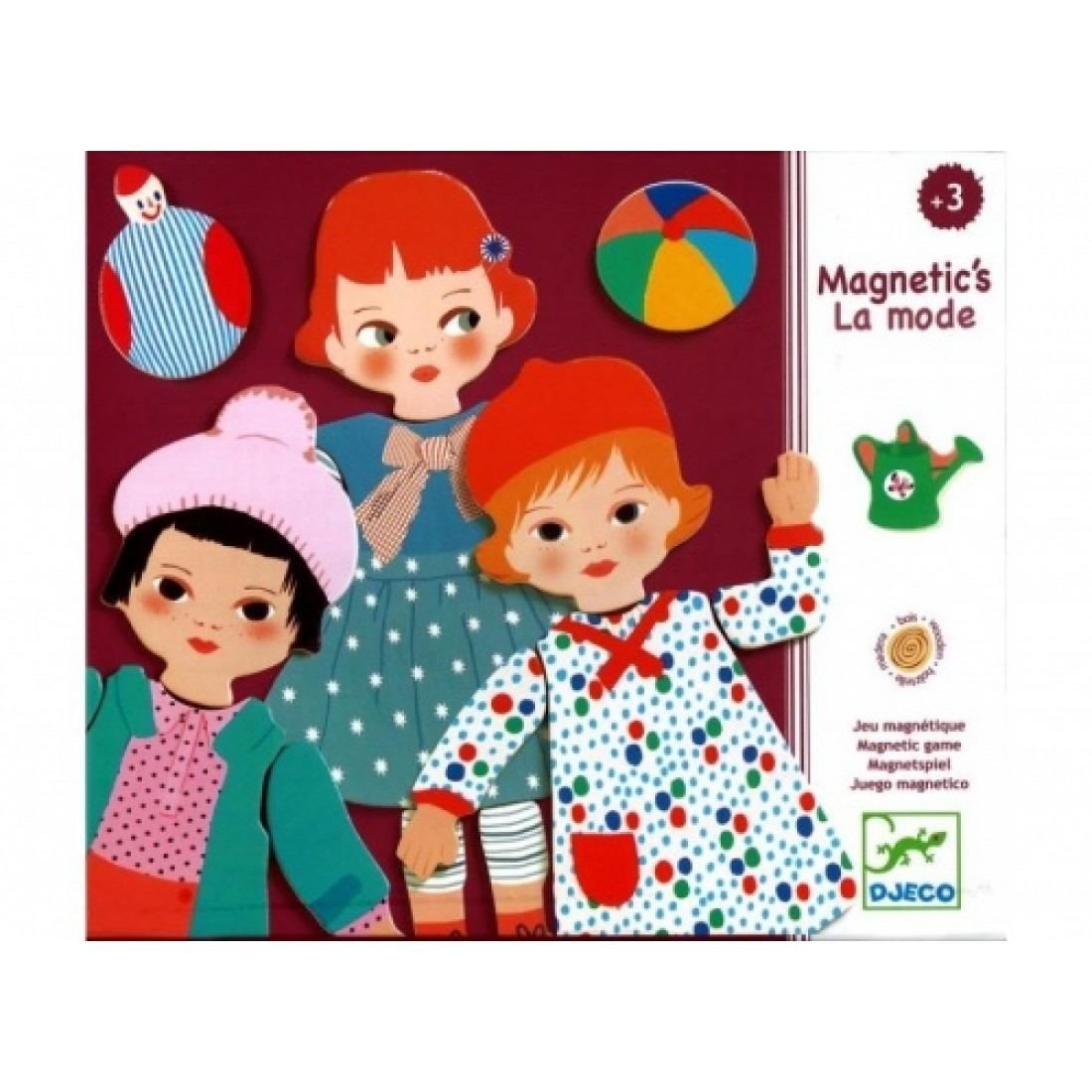 Djeco Magnetics La Mode
