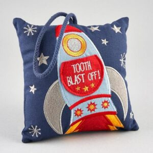 Floss Rock Tooth Fairy Cushion Rocket
