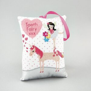 Floss Rock Tooth Fairy Cushion Unicorn
