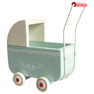Maileg Light Blue Pram