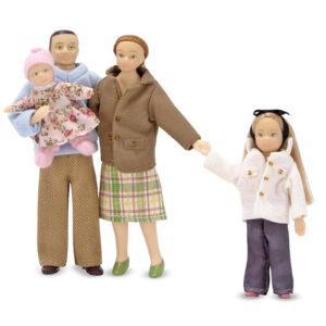 Melissa and Doug Victorian Doll Family