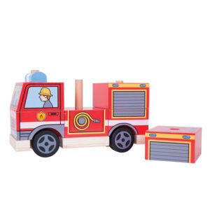 BigJigs Stacking Fire Engine