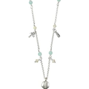 Hultquist Palm Tree and Pineapples Necklace
