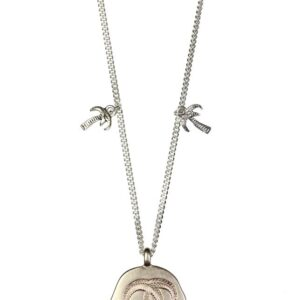 Hultquist Palm Trees Necklace