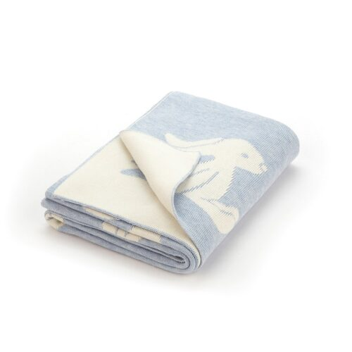 Jelly cat Blue Bashful Bunny Blanket