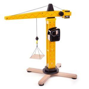 child's wooden crane